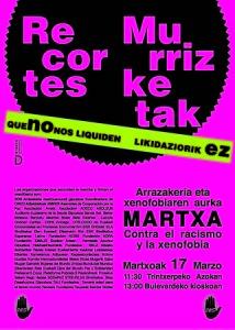 cartel martxa 2013